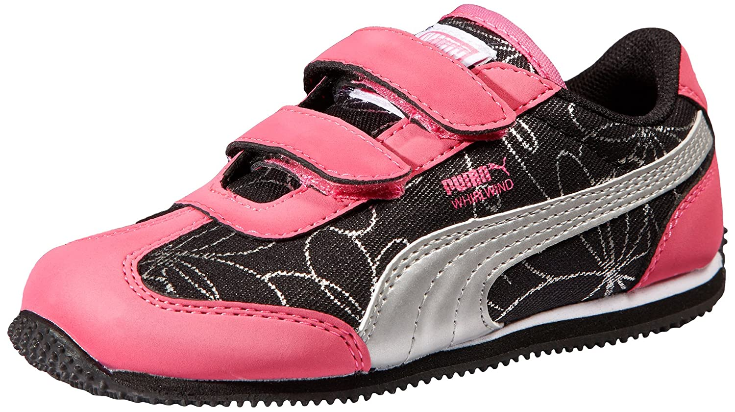 6b1b319e730 Amazon.com   PUMA Whirlwind V Sneaker (Toddler Little Kid), Fluorescent  Pink Puma Silver, 4 M US Toddler   Sneakers