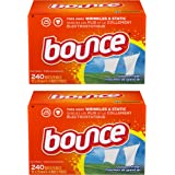Bounce Fabric Softener Sheets, Outdoor Fresh, 240 Count, 2-Pack