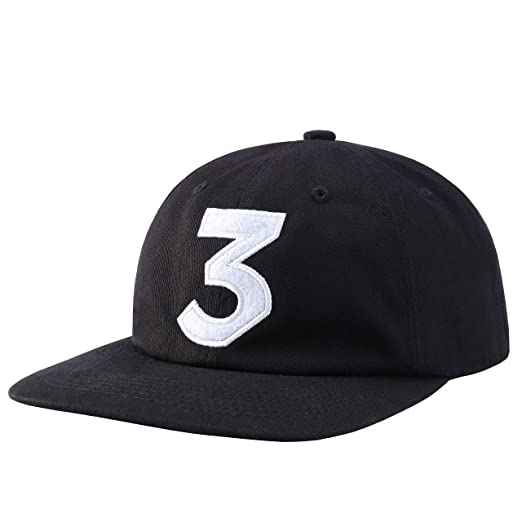 ff74db819d306 Zhangjunlin Number 3 Dad Hat Baseball Cap Embroidered Dad Hats Adjustable  Hats Plain Cap Black