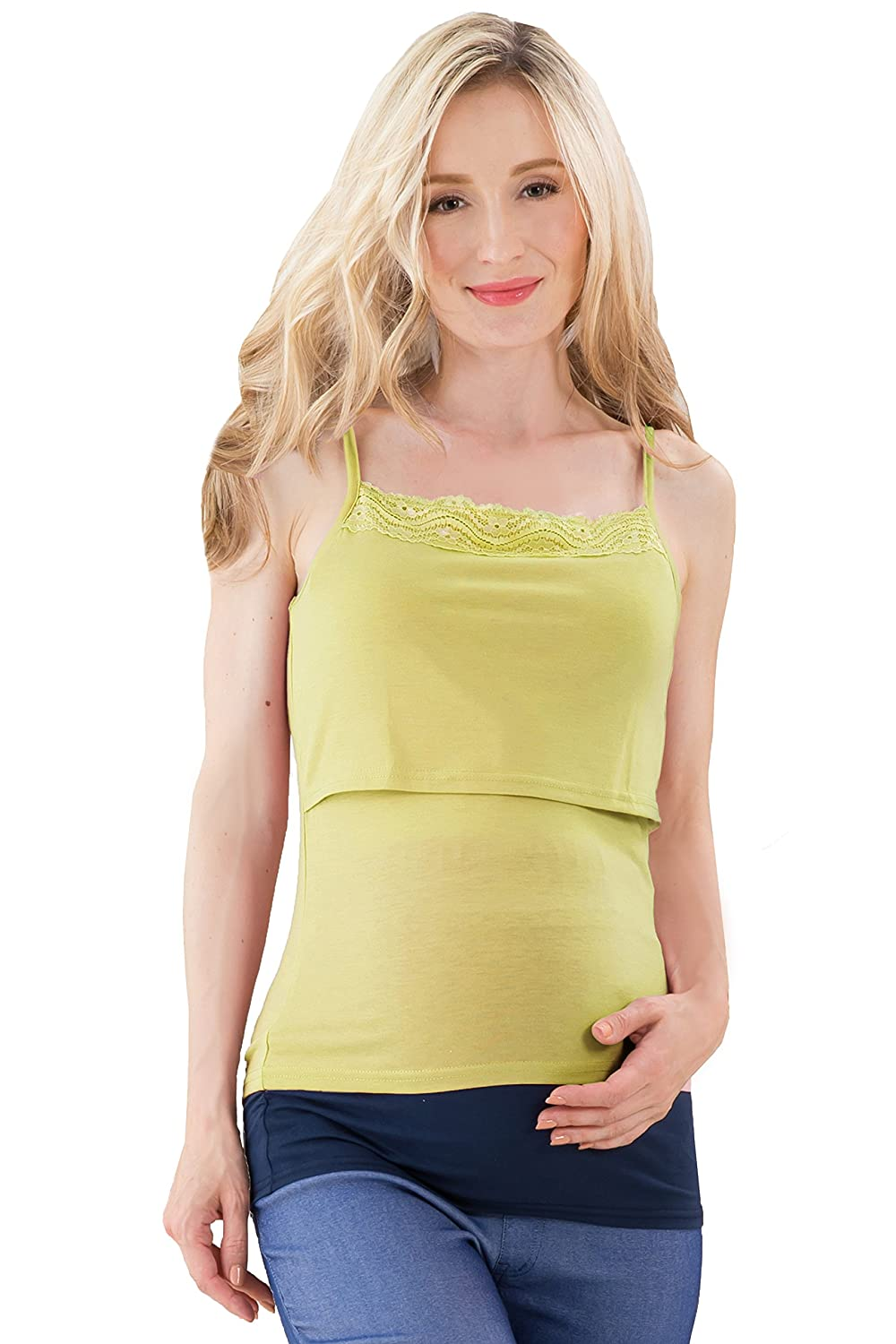 Sweet Mommy Maternity and Nursing Rayon Cotton Camisole Sweet Mommy Co. Ltd sw9346