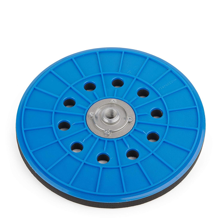 Schleifteller von Wabrasive | Ø 225 mm | Stützteller für Klett-Schleifpapier | Ideal für Matrix Deckenschleifer Wandschleifer Tellerschleifer und Trockenbauschleifer wzw