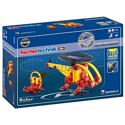 fischertechnik Basic Solar Kit, 60-Piece: Toys & Games