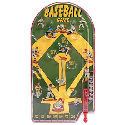 Schylling Home Run Pinball Toy: Toys & Games