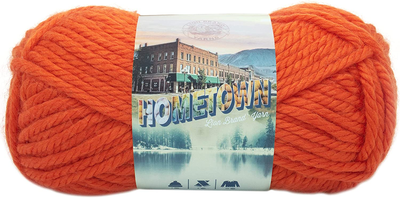 Lion Brand 135-133 Hometown USA Yarn - Syracuse Orange