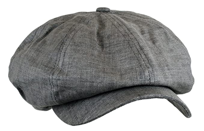 1920s Men's Hats – 8 Popular Styles Wonderful Fashion Mens Linen 8 Panel Applejack Gatsby newsboy IVY Hat $11.98 AT vintagedancer.com