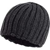 71387ff1fd1f1 Maine New England Men Grey Ribbed Thermal Hat and Gloves Set in A ...
