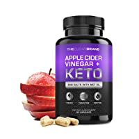 Keto Diet Pills + Apple Cider Vinegar (BHB Salts & MCT Oil) - Exogenous Ketones...