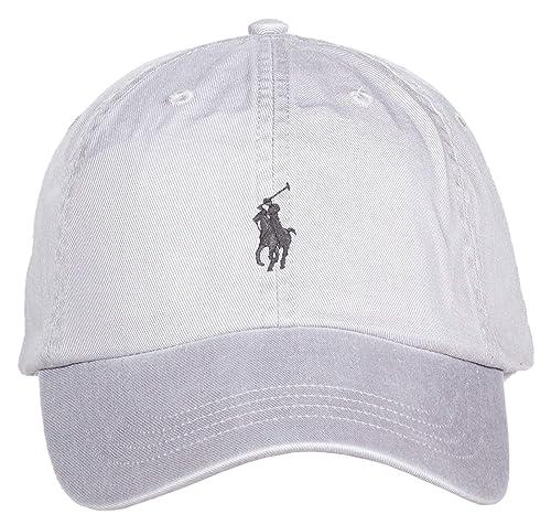 ordinare on-line l'atteggiamento migliore Nuovi Prodotti Ralph Lauren MOD. 710667709 Cappello Baseball Unisex Grigio ...