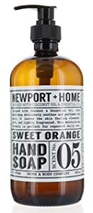 Newport + Home Hand Soap Co (Sweet Orange, Single)