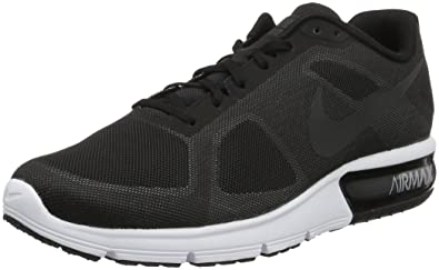 new styles 0cd49 ad006 Nike Men s s Air Max Sequent Running Shoes Multicolore Blanco (Black MTLC  Hmtt-WLF