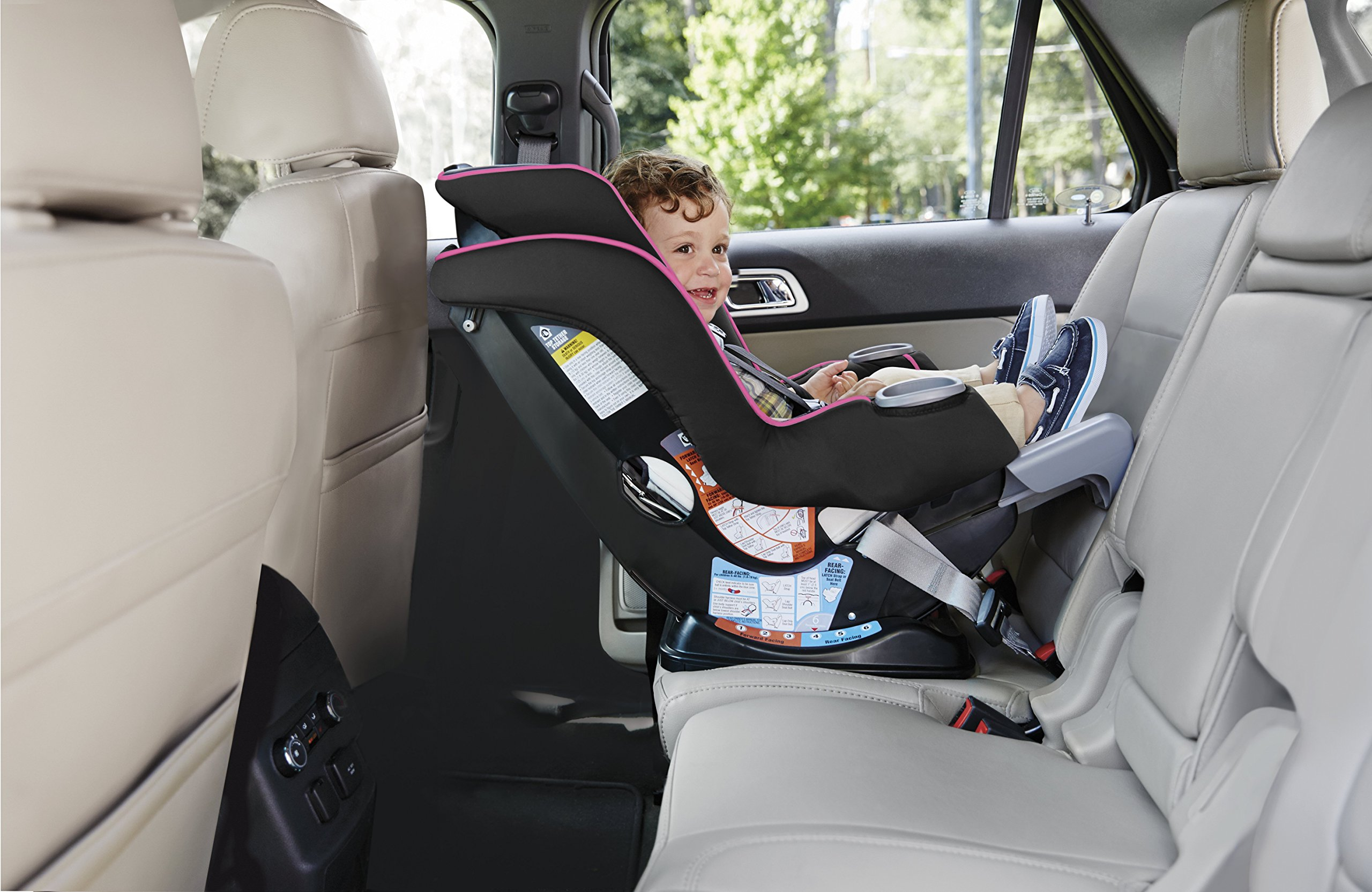 Graco Extend2Fit Convertible Car Seat, Kenzie by Graco (Image #5)