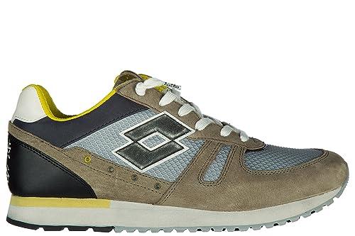 Lotto Leggenda Scarpe Sneakers Uomo camoscio Nuove Tokyo Shibuya Grigio   Amazon.it  Scarpe e borse a4c614d66cd