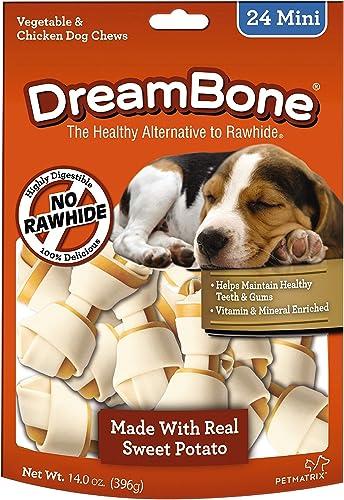 Dreambones Dreambone Sweet Potato Dog Chew 24 Piece Pack , Mini