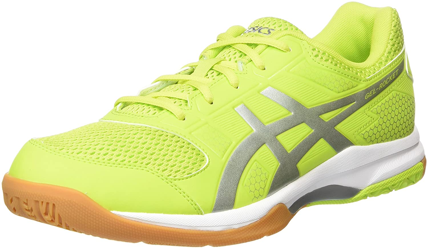 Asics Men's Gel-Rocket 8 Multisport Indoor Shoes, Green (Energy Green/Silver/White 7793),10.5 UK/46 EU B706Y