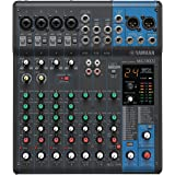 Yamaha MG10XU 10-Channel Mixing Console with Built-In FX and USB Connectivity