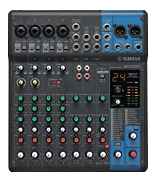 Amazon.com: Yamaha MG10XU 10-Input Stereo Mixer with Effects ... on mixer parts, audio connector diagrams, midi hookup diagrams, home theater system connection diagrams, pro tools studio diagrams, powered mixer diagrams, xbox 360 cable connections diagrams, mixer circuit schematic, pa hookup diagrams, sewage pump venting diagrams,