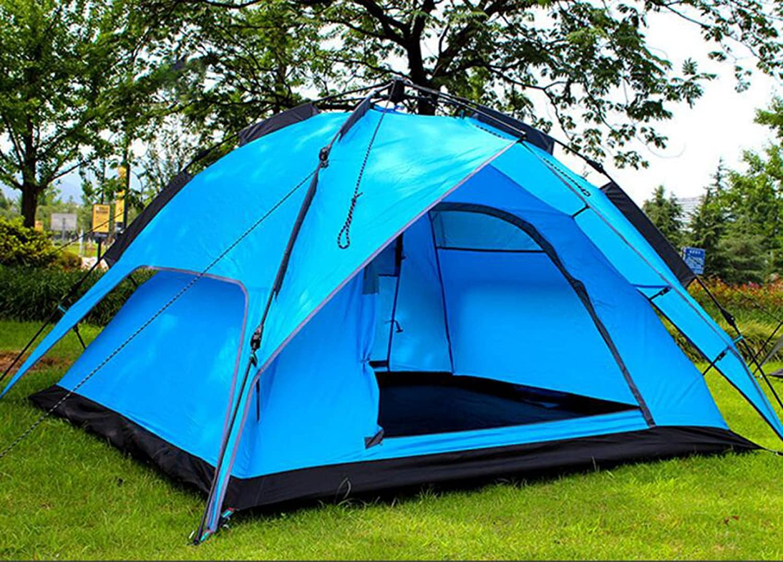 Freie Sie Richten Sie Freie Die Automatische Zelt 3-4 Personen,SapphireBlau-200200130cm 831eab