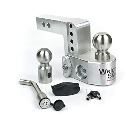Amazon.com: Weigh Safe WS4-2-KA, enganche de gota de 4.0 in ...