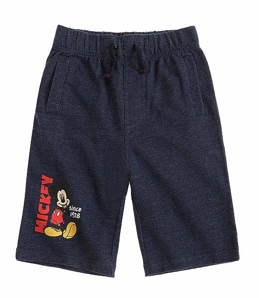 Disney Mickey Chicos Bermudas 2016 Collection - blue denim: Amazon.es: Ropa y accesorios