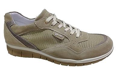 IGI&CO Scarpe Uomo Sneakers Camoscio/Rete Beige Plantare ...