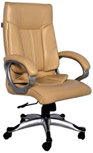 Adiko High Back Office Chair (Cream)