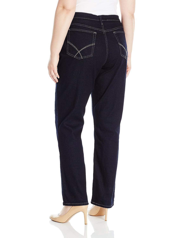 67eea24438c Riders by Lee Indigo Women s Plus Size Joanna Classic 5 Pocket Jean at  Amazon Women s Clothing store