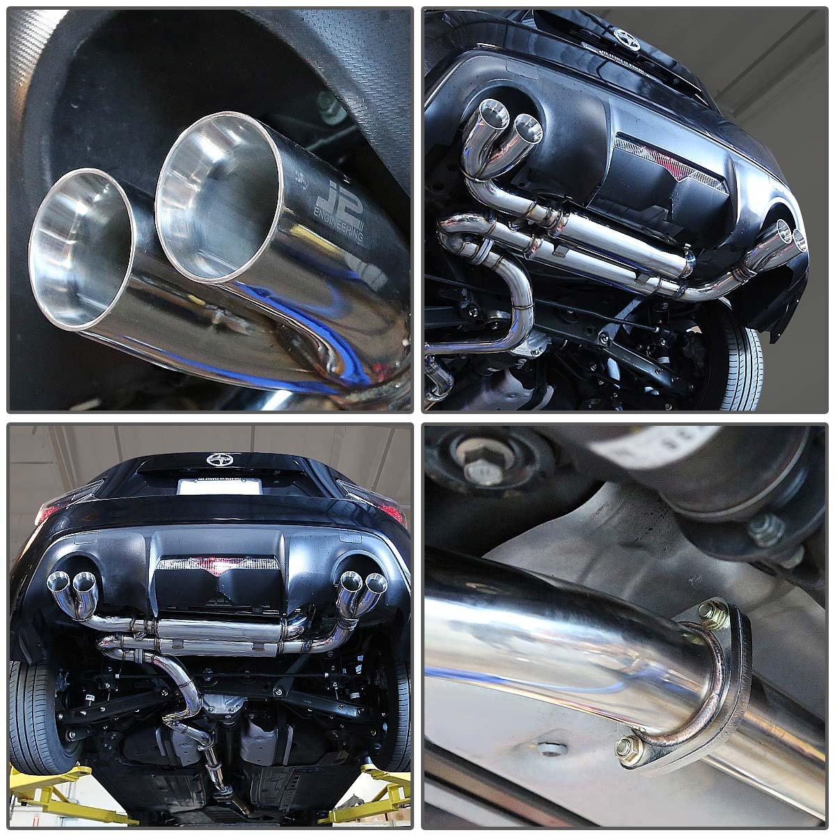 Amazon.com: DNA Motoring J2 Engineering J2-CBE-003 Catback Exhaust System: Automotive