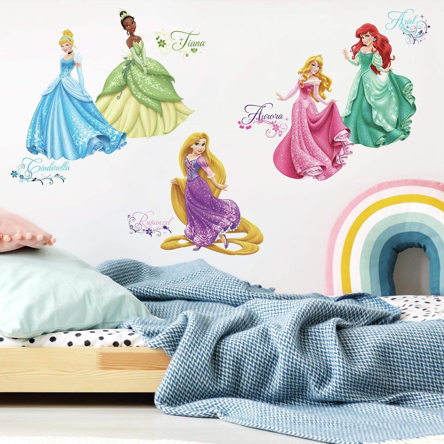 Roommates Rmk2199scs Disney Princess Royal Debut Peel And Stick Wall Decals Home Improvement