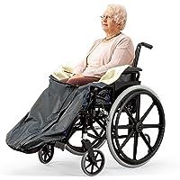 Bramble Fleece-gefütterte, wasserdichte und komfortable Rollstuhldecke- wasserdichte Decke/Überwurf - Verwendung auf Reisen oder zu Hause - Gemütlich & Warm