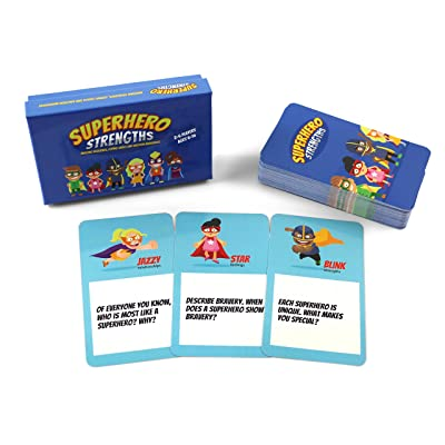 Superhero Strengths: Building Resilience, Coping Skills, and Emotion Awareness Card Game: Toys & Games