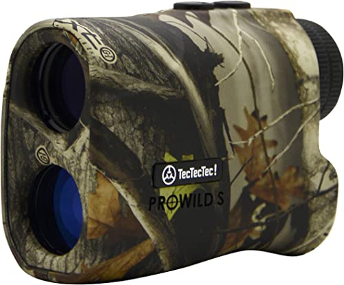 TecTecTec ProWild S with Angle Compensation – Laser Rangefinder for Hunting with Speed, Scan and Normal Measurements