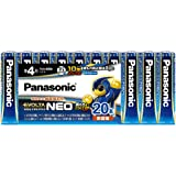 パナソニック EVOLTA NEO 単4形アルカリ乾電池 20本パック 日本製 LR03NJ/20SW