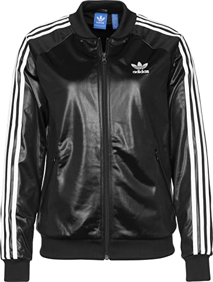 a84472b5a5 adidas Superstar TT W Giacca da tuta 34 black: Amazon.it: Abbigliamento