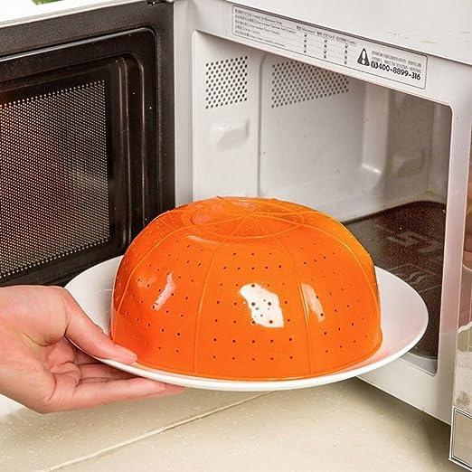 Amazon.com: Útil multifunción Naranja silicona cocina cesta ...