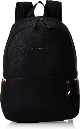 Tommy Hilfiger Essential Backpack Zaini Uomo, Nero (Black)