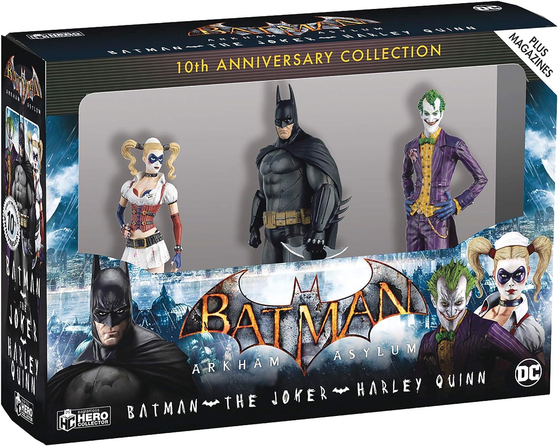 Eaglemoss Batman Arkham Asylum 10th Anniversary Collection #2 Le Joker Figure