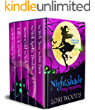 Nightshade Cozy Mysteries : A Witch Cozy Collection: Books 1 - 5