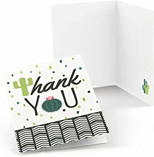 product image for Big Dot of Happiness Prickly Cactus Party - Fiesta Party Thank You Cards (8 Count)