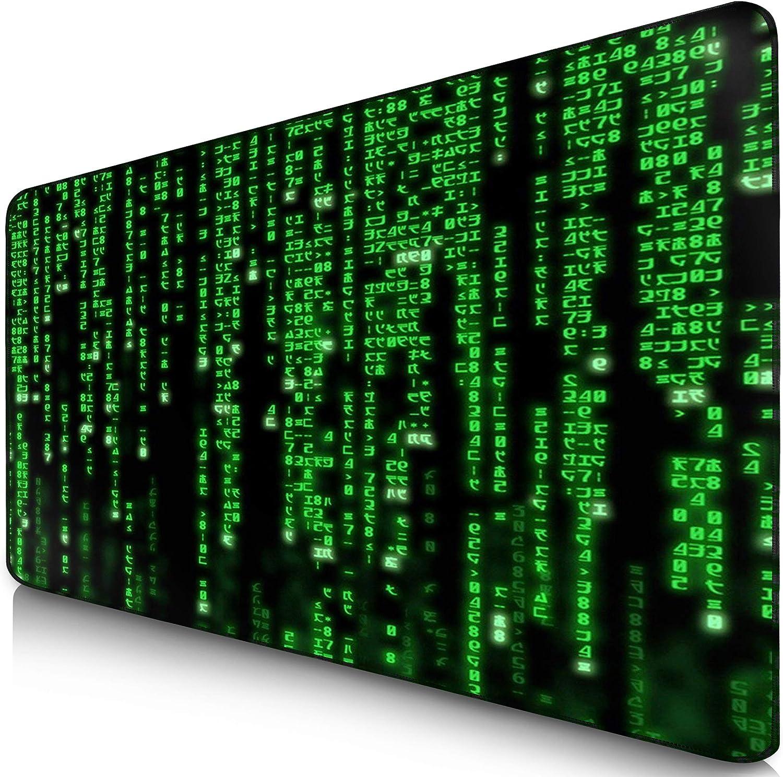 Vern/ähte Kanten Gen/ähte Kante-900 * 400mm EXCO Gaming Mauspad XXL Mousepad mit Glatt Oberfl/äche und Pr/äzise Tracking