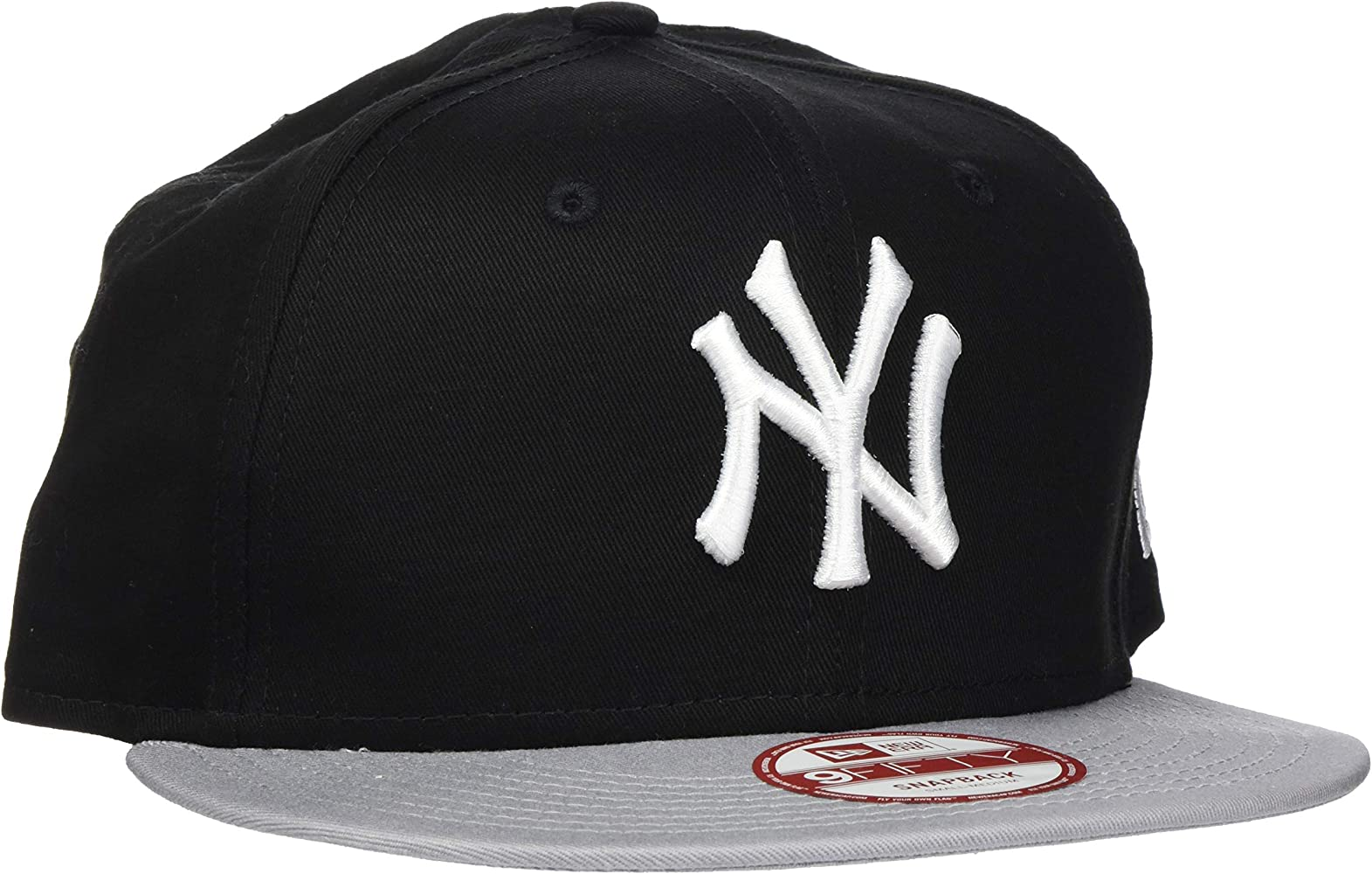 New Era 9Fifty - Gorra Unisex, Color Negro/Gris, Talla única ...