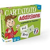 Fundels - Cartatoto Apprendre les Additions - Jeu de cartes Educatif