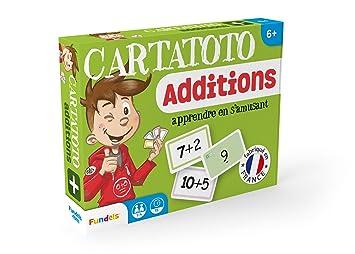 Cayro-410001 Juego Cartas Sumar Cartatoto +6 años, (410001)