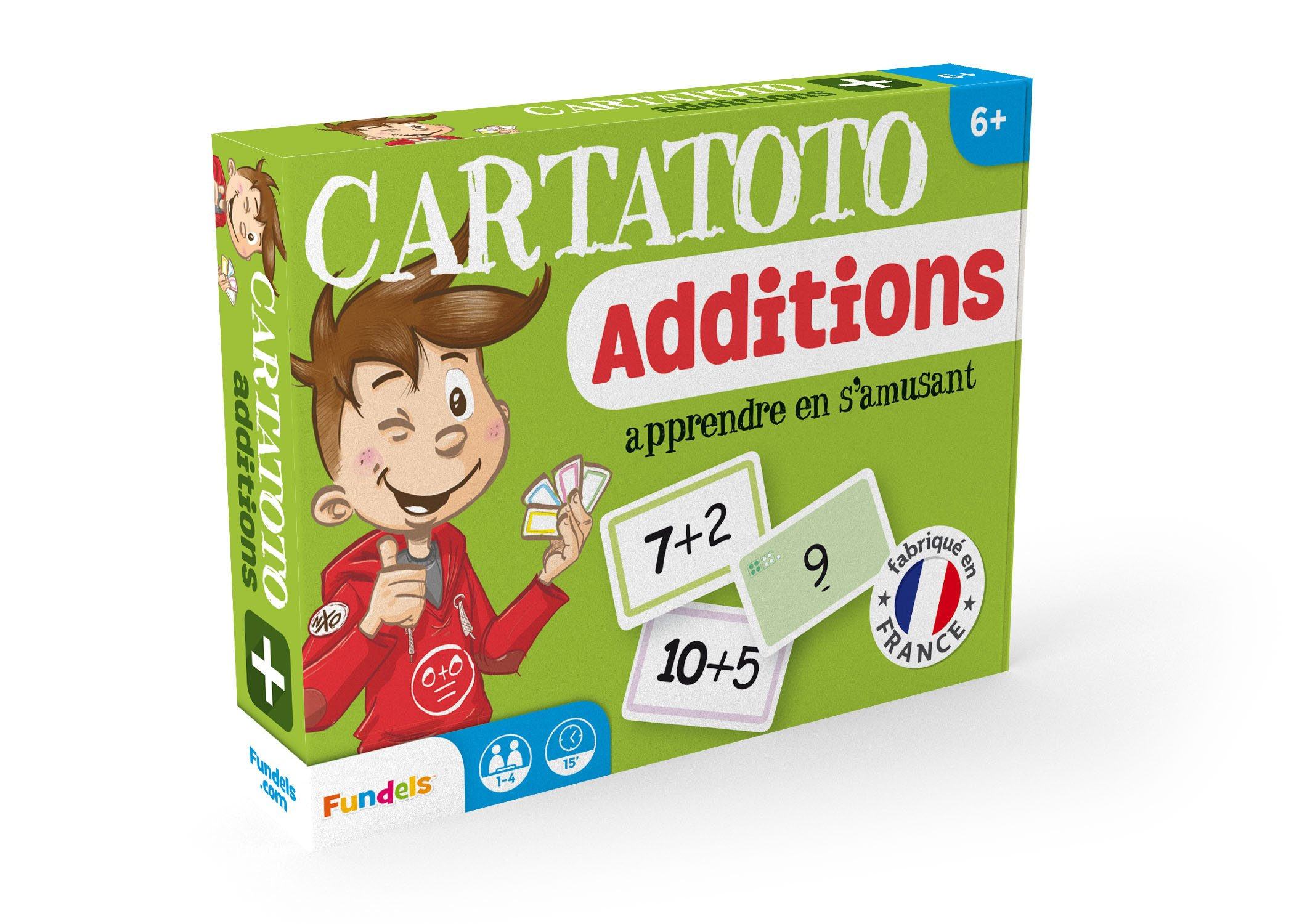 Cartatoto Apprendre les Additions - Jeu de cartes Educatif product image