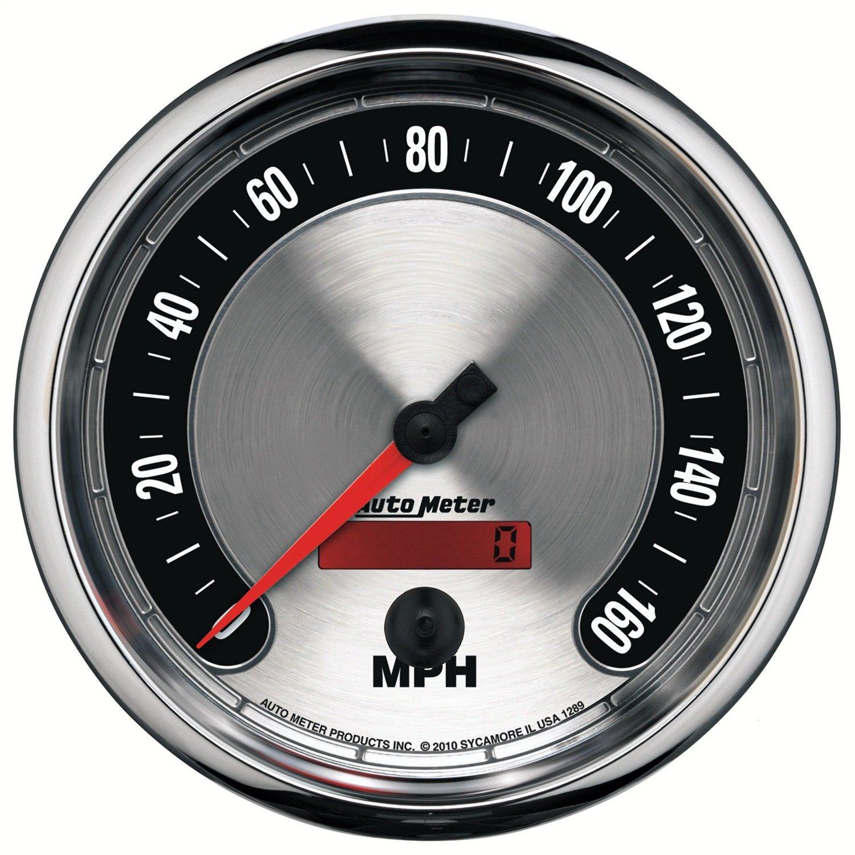Auto Meter 1289 American Muscle 5'' 0-160 mph Speedometer Gauge by Auto Meter