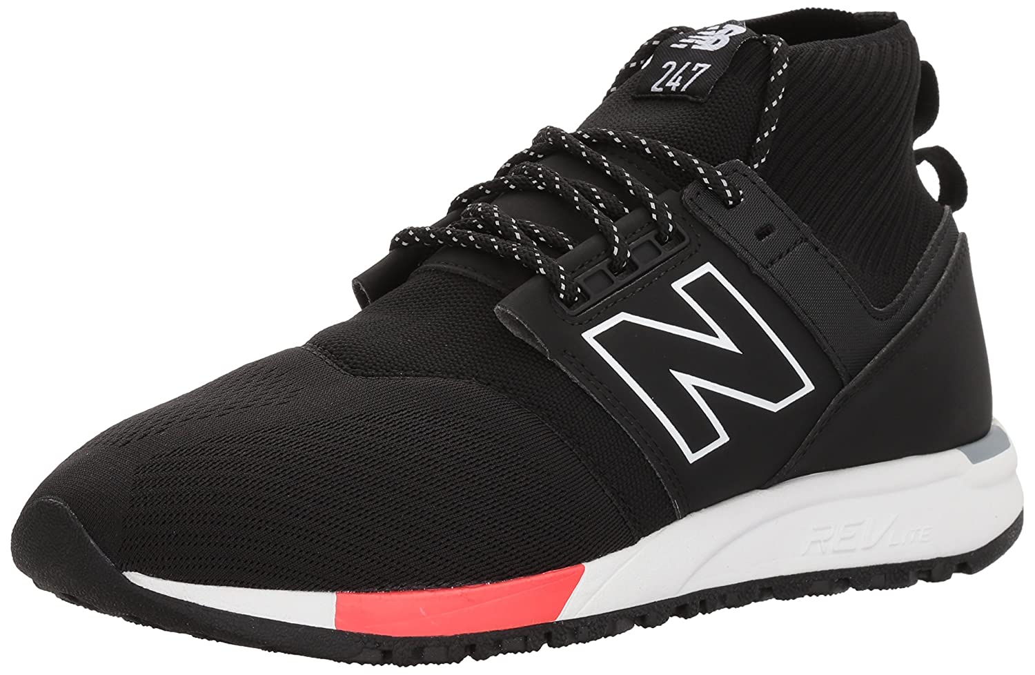 New Balance Men's MRL247OF MID Running Shoes B06XS9LNCL 8.5 D(M) US|black
