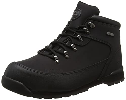 eaadd937243 Ajvani Mens Work Safety Shoes lace up Steel Toe Cap Hiking Ankle Boots Size