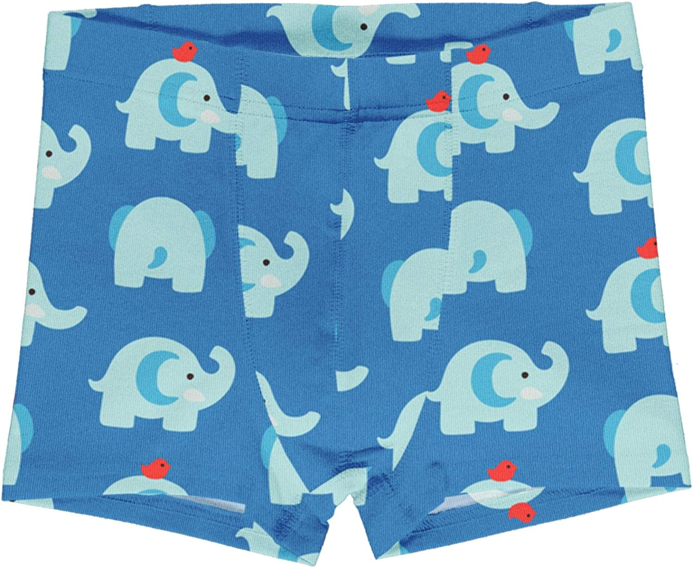 Maxomorra Boxer Shorts Elephant Friends