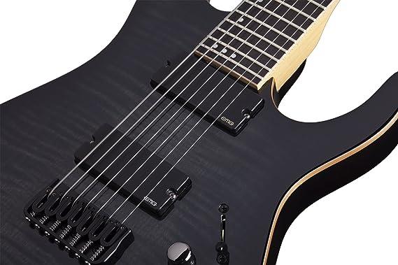 Schecter 1234 banshee-7 activo TBB guitarra eléctrica: Amazon.es: Instrumentos musicales