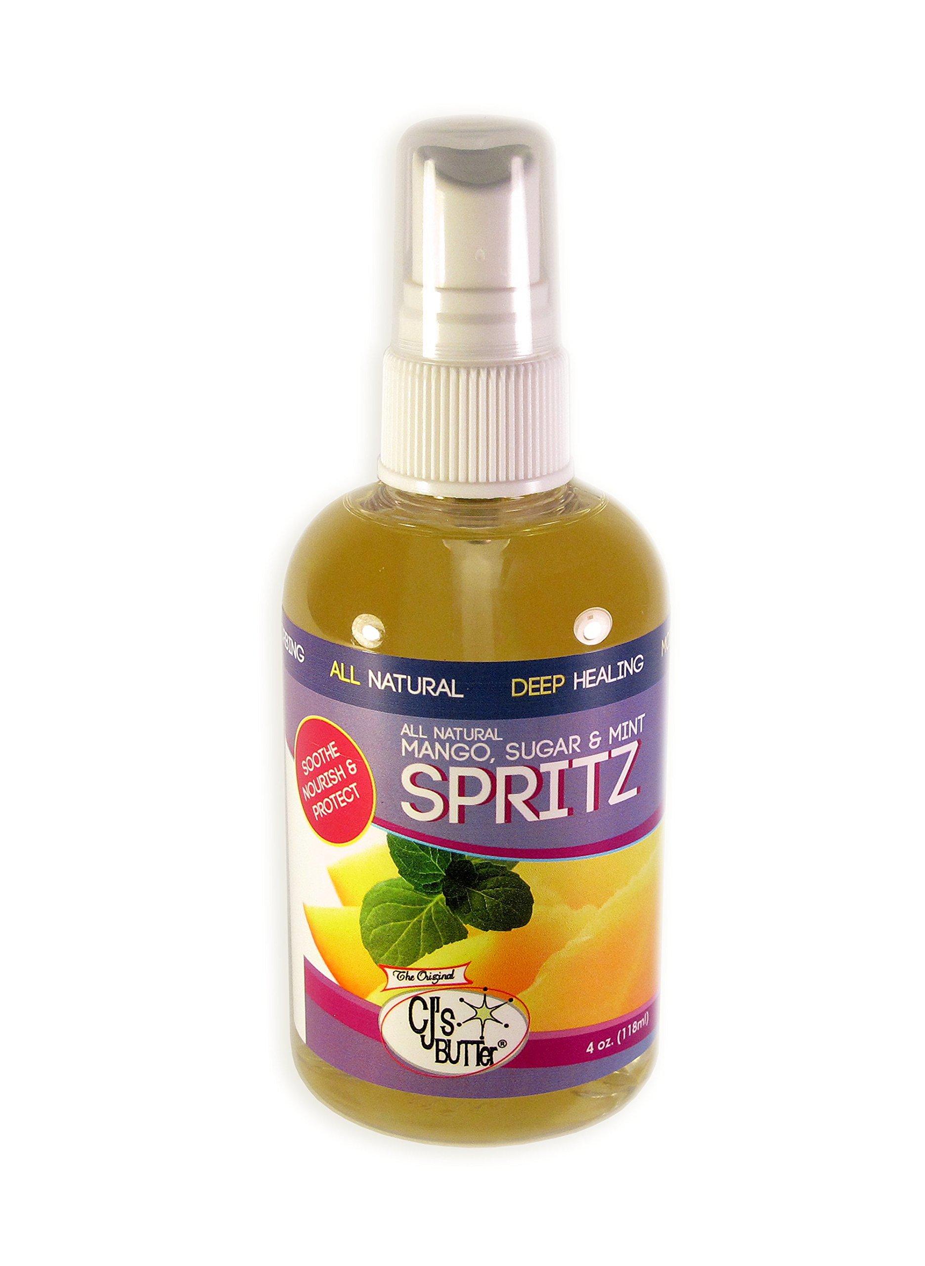 CJ's BUTTer Spritz - All Natural Mango, Sugar & Mint