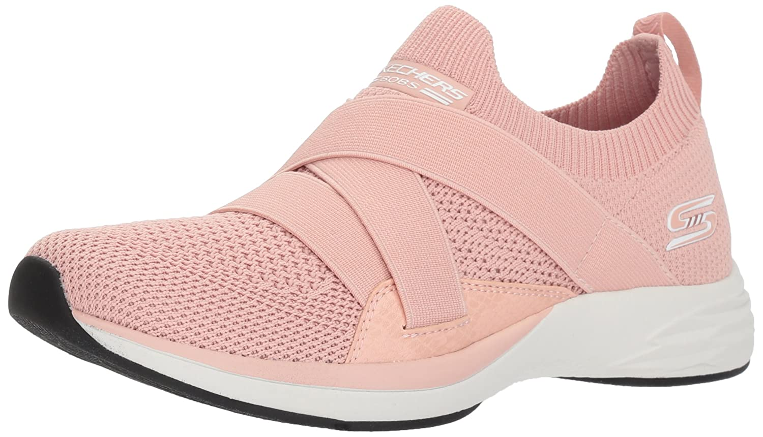 Skechers BOBS from Women's Bobs Clique Sneaker B077TFWPV1 9.5 B(M) US|Pnk